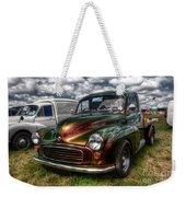 Metallic Morris  Weekender Tote Bag