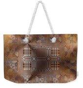 Metallic Pattern Weekender Tote Bag