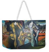 Metamophosis Of Narcissus Weekender Tote Bag