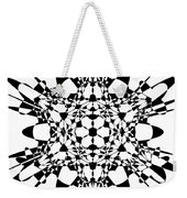 Metatron Cube A Version Weekender Tote Bag