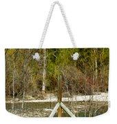 Methow River Springtime Weekender Tote Bag