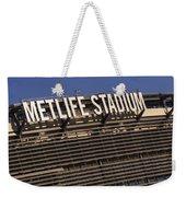Metlife Stadium Weekender Tote Bag