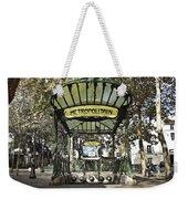 Metropolitain Entrance Paris Weekender Tote Bag