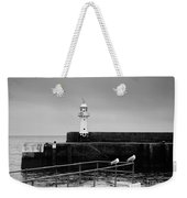 Mevagissey Lighthouse Weekender Tote Bag