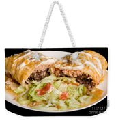 Mexican Burrito Plate 2 Weekender Tote Bag