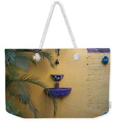 Mexican Courtyard Weekender Tote Bag