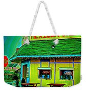 Mexican Grill Weekender Tote Bag by Chris Berry