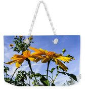 Mexican Sunflower Weekender Tote Bag