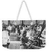 Mexican Textile Factory Weekender Tote Bag