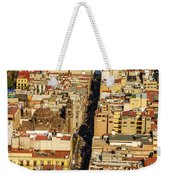 Mexico City Cathedral And Zocalo Weekender Tote Bag by Jess Kraft