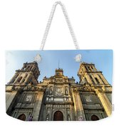 Mexico City Cathedral Facade Weekender Tote Bag