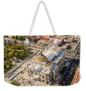Mexico City Fine Arts Museum Weekender Tote Bag by Jess Kraft