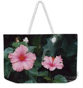 Mexico Pink Beauties By Tom Ray Weekender Tote Bag