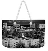 Miami Beach - 0156bw Weekender Tote Bag