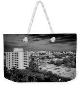 Miami Beach - 0153bw Weekender Tote Bag
