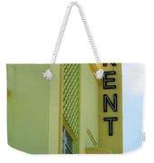Miami Beach - Art Deco 10 Weekender Tote Bag