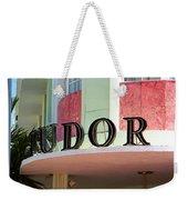 Miami Beach - Art Deco 11 Weekender Tote Bag