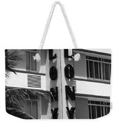 Miami Beach - Art Deco 17 Weekender Tote Bag
