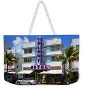 Miami Beach - Art Deco 37 Weekender Tote Bag
