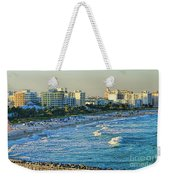 Miami Beach Sunset Weekender Tote Bag