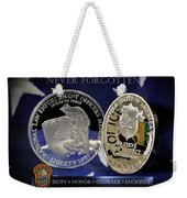 Miami Dade Police Memorial Weekender Tote Bag