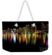 Miami Skyline II High Res Weekender Tote Bag