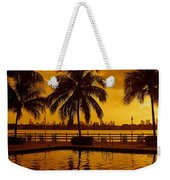 Miami South Beach Romance Weekender Tote Bag