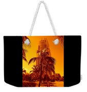 Miami South Pointe Iv Weekender Tote Bag