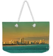 Miami Sunset Weekender Tote Bag
