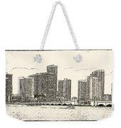 Miami - Venetian Causeway Weekender Tote Bag