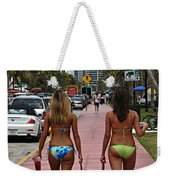 Miami Vice Weekender Tote Bag