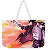 Michael Jackson-billie Jean Weekender Tote Bag by Joshua Morton