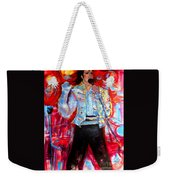 Michael Jackson I'll Be There Weekender Tote Bag