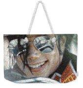 Michael Jackson - Mosaic Weekender Tote Bag
