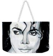 Michael Jackson Portrait Weekender Tote Bag