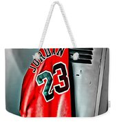 Michael Jordan 23 Shirt Weekender Tote Bag