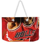 Michael Jordan Artwork 3 Weekender Tote Bag