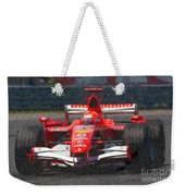Michael Schumacher Canadian Grand Prix I Weekender Tote Bag