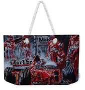 Michael Schumacher Out Of The Darkness Weekender Tote Bag