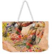 Michelangelo  Weekender Tote Bag by Mark Ashkenazi