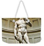 Michelangelos David  Weekender Tote Bag