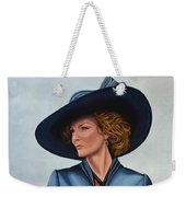 Michelle Pfeiffer Weekender Tote Bag