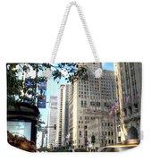 Michigan Avenue Chicago Illinois Weekender Tote Bag