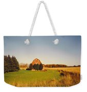 Michigan Barn And Landscape Weekender Tote Bag