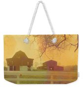 Michigan Barns Weekender Tote Bag