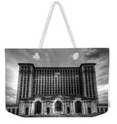 Michigan Central Station Bw Weekender Tote Bag