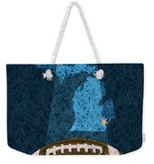 Michigan Football Poster Weekender Tote Bag