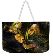 Michigan Fresh Water Ripples Weekender Tote Bag