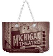 Michigan Theatre Weekender Tote Bag
