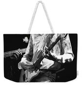 Mick In Flight 1977 Weekender Tote Bag